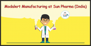 Modalert Manufacturing at Sun Pharma (India)